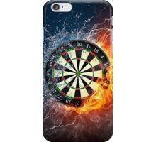 iPHONE DARTS FIRE & ICE iPhone Case/Skin