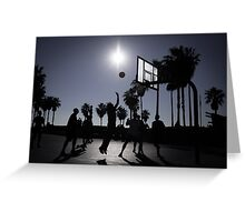 Hoops - Venice Beach Greeting Card