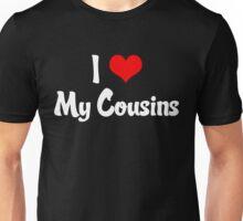 I Heart My Cousins Unisex T-Shirt