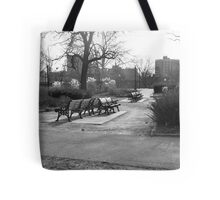 Cold bench Tote Bag