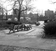 Cold bench by MarianBendeth