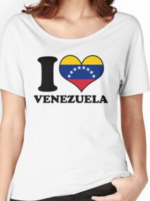 I Heart Venezuela Women's Relaxed Fit T-Shirt