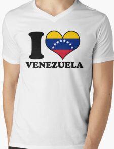 I Heart Venezuela Mens V-Neck T-Shirt