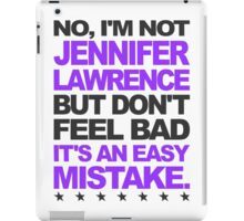 I'm Not Jennifer Lawrence.. iPad Case/Skin