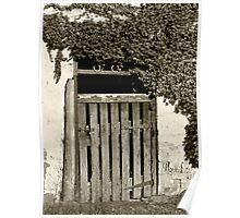The Old Barn Door - Oakbank Poster
