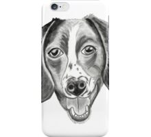 Boomer the barfing barking ball-obsessed beagle iPhone Case/Skin
