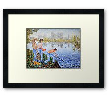 The Long Way Home Framed Print