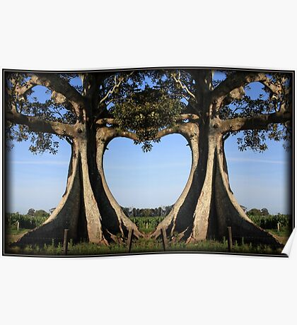 The Love Tree...  A whimsical and popular presentation Poster