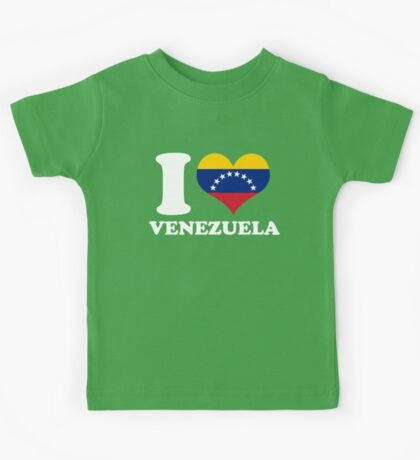 I Heart Venezuela Kids Tee