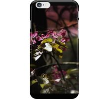 red tree flowers #4, tinted iPhone Case/Skin