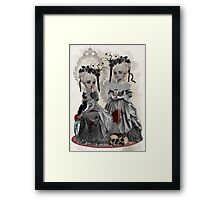 Blood & Roses Framed Print