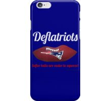 Deflatriots iPhone Case/Skin