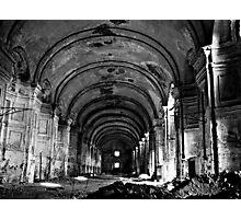 Ruins of Venaria Reale Photographic Print