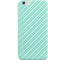 Tiffany Aqua Blue Deckchair Stripes iPhone Case/Skin