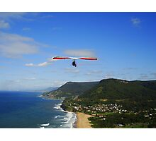 Hang gliding, Stanwell Park, Australia Photographic Print