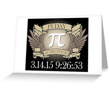 Excellent 'Ultimate Pi Day 2015 Crest' T-shirts, Hoodies, Accessories and Gifts Greeting Card