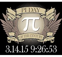 Excellent 'Ultimate Pi Day 2015 Crest' T-shirts, Hoodies, Accessories and Gifts Photographic Print