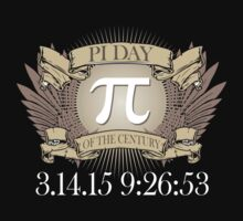 Excellent 'Ultimate Pi Day 2015 Crest' T-shirts, Hoodies, Accessories and Gifts by Albany Retro