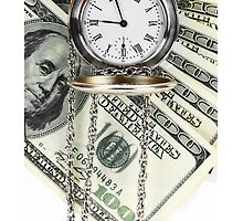 iPHONE TIME IS MONEY CASE 2 by buniquedesignz