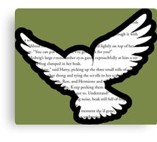 Harry Potter - Hedwig - Order of the Phoenix Canvas Print