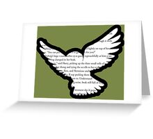 Harry Potter - Hedwig - Order of the Phoenix Greeting Card