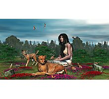 Porsha, Indian Princess and Friends Photographic Print