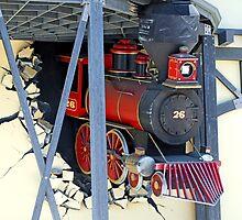 Runaway Train at Fry's Electronics by Lenny La Rue, IPA