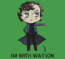 """I'm With Watson"" T-Shirt"