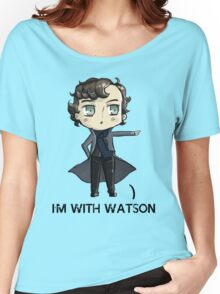 """I'm With Watson"" Women's Relaxed Fit T-Shirt"