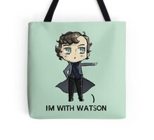 """""""I'm With Watson"""" Tote Bag"""