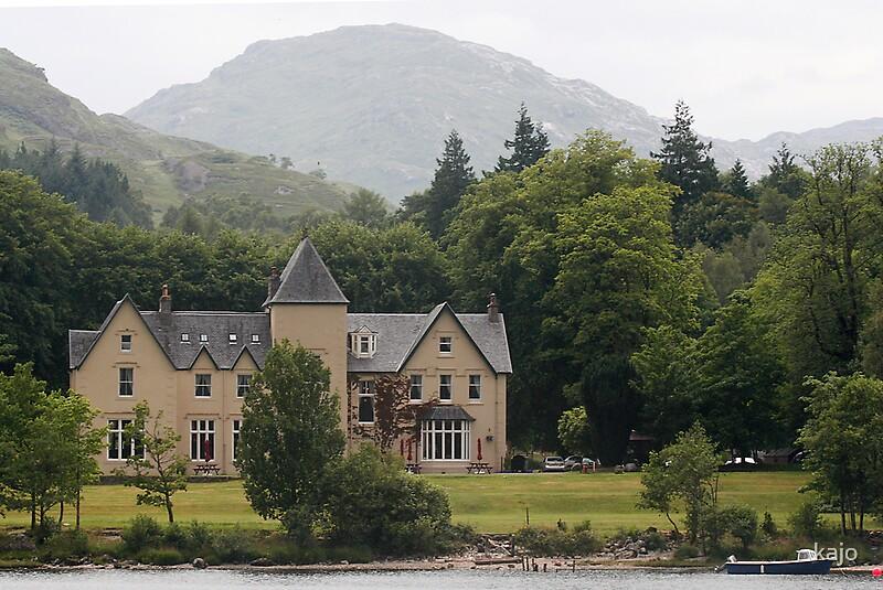 Glenfinnan United Kingdom  city pictures gallery : Glenfinnan House Hotel, Loch Shiel, Scotland