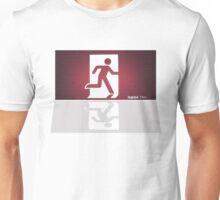 Exit Stage Left Unisex T-Shirt