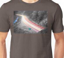 Boulder County Colorado Blazing Canyon View BWSC Unisex T-Shirt
