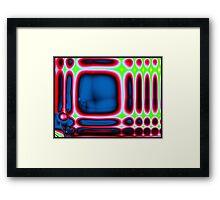 cortexual revolution in laptop land Framed Print