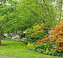 Philadelphia's Azalea Garden - Pennsylvania - USA by MotherNature