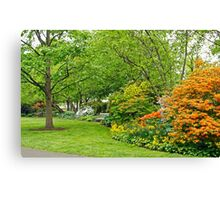 Philadelphia's Azalea Garden - Pennsylvania - USA Canvas Print