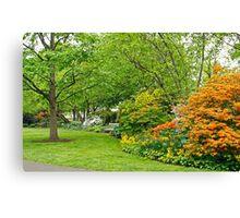 Philadelphia's Azalea Garden - Pennsylvania - USA Canvas Print