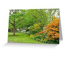Philadelphia's Azalea Garden - Pennsylvania - USA Greeting Card