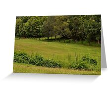 Greener pastures on the other side of the mountain Greeting Card