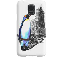 penguins win in the end Samsung Galaxy Case/Skin