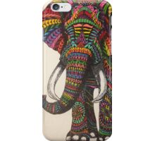 Colorful Elephant iPhone Case/Skin