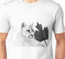 Canadian Cougar Unisex T-Shirt