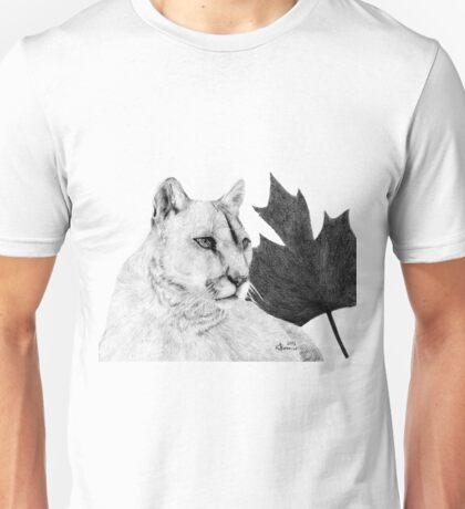 Canadian Cougar Unisex T-Shirt