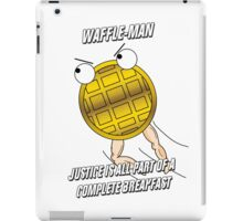 Waffle-Man iPad Case/Skin