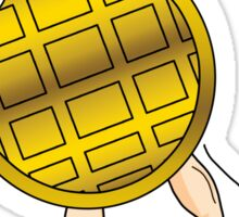 Waffle-Man Sticker