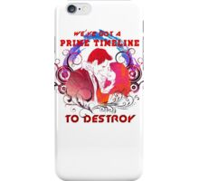 Community: Evil Jeff & Evil Annie The Darkest Timeline iPhone Case/Skin