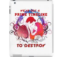 Community: Evil Jeff & Evil Annie The Darkest Timeline iPad Case/Skin