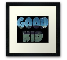 Kendrick Lamar Good Kid Framed Print