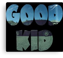 Kendrick Lamar Good Kid Canvas Print
