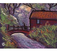 The old rustic bridge Photographic Print